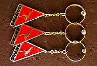 Brelocuri triunghiulare negativ
