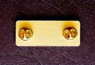 Pini metalici pentru ecusoane