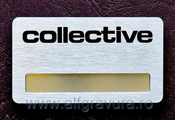 Ecuson personalizat metalic
