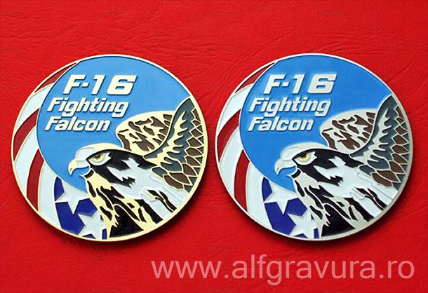 Emblema F16 gravata pozitiv