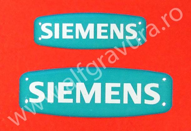 Etichete volumetrice cu rasina  40x13 mm