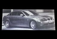Fotogravura BMW