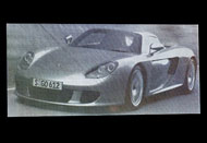 Fotogravura Porsche