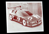 Fotogravura masina de curse