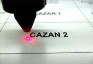 Gravura laser plastic bicolor