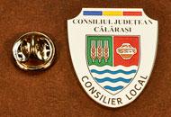Insigne Suflate Nichel Consilier Local Calarasi
