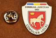 Insigne Nichelate Consilier Local Iasi