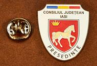 Insigne Nichelate Presedinte Consiliul Local Iasi