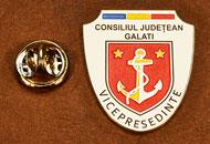 Insigne Suflate Nichel Vicepresedinte Consiliul Local Galati