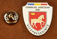 Insigne Nichelate Vice-Presedinte Consiliul Local Iasi
