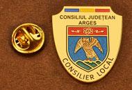 Insigne Placate Aur Consilier Local Arges