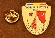Insigne Placate Aur Consilier Local Bacau