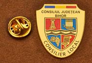 Insigne Placate Aur Consilier Local Bihor