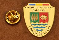 Insigne Suflate Aur Consilier Local Calarasi