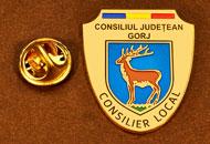 Insigne Suflate Aur Consilier Local Gorj