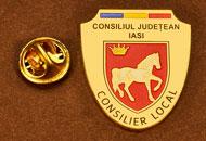 Insigne Aurite Consilier Local Iasi