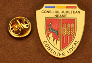 Insigne Aurite Consilier Local Neamt