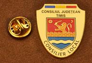 Insigne Aurite Consilier Local Timis
