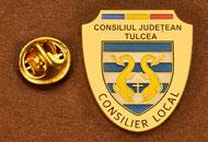 Insigne Aurite Consilier Local Tulcea