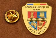 Insigne Placate Aur Presedinte Consiliul Local Bihor