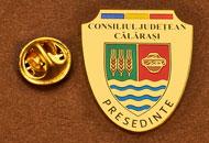 Insigne Suflate Aur Presedinte Consiliul Local Calarasi