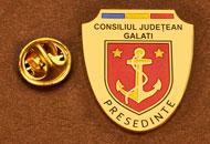 Insigne Suflate Aur Presedinte Consiliul Local Galati