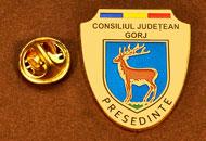 Insigne Suflate Aur Presedinte Consiliul Local Gorj