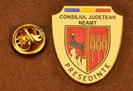 Insigne Aurite Presedinte Consiliul Local Neamt