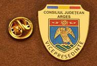 Insigne Placate Aur Vice Presedinte Consiliul Local Arges