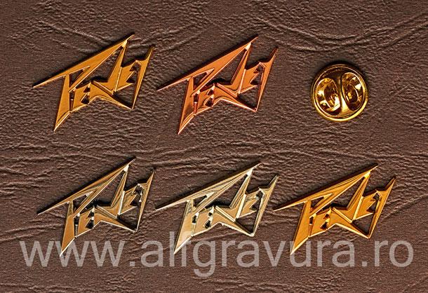 Insigna Decupata Metalica Cupru