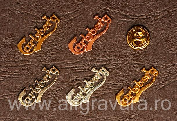 Insigna Sigla Suflata cu Aur