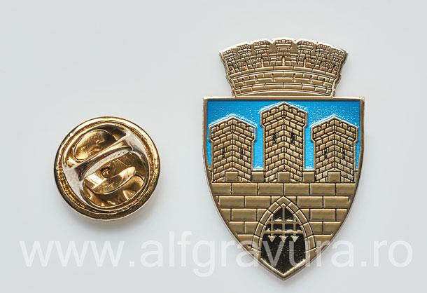 Insigna Nichelata Cluj Napoca