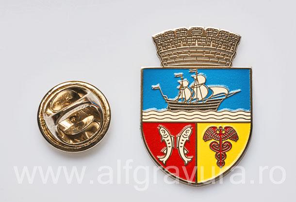 Insigna Nichelata Galati
