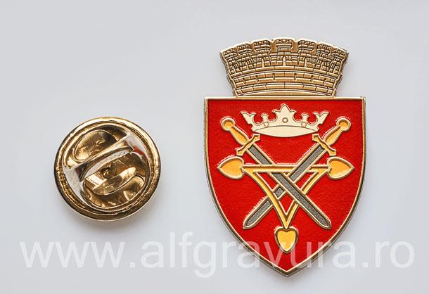 Insigna Nichelata Sibiu