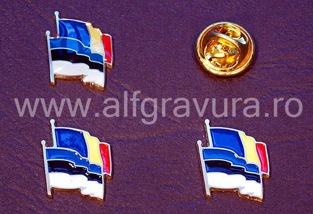 Insigna Romania Estonia