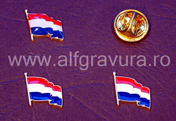 Insigna Steagul Olandei
