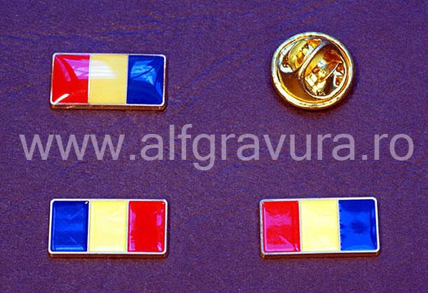 Insigna  tricolor Romanesc