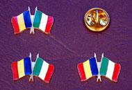 Insigne steaguri Romania Italia