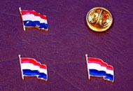Insigne steagul Olandei