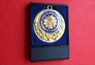Fata medalie M71 in caseta plastic