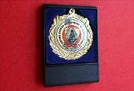 Fata medalie M74 in caseta plastic