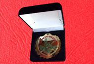 Spate medalie M72 in caseta plus
