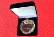 Spate medalie M74 in caseta plus