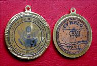 Gravura laser insert medalie