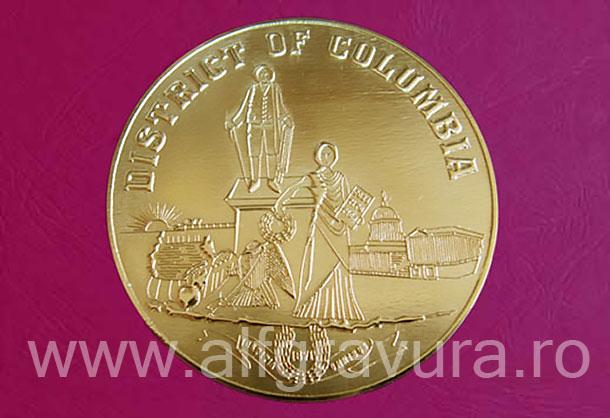 Medalie alama slefuita