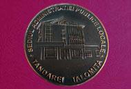 Medalii semipatinate din cupru
