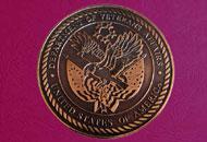 Medalii 3d cupru semipatinat
