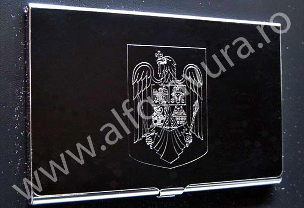 Gravare port card metal