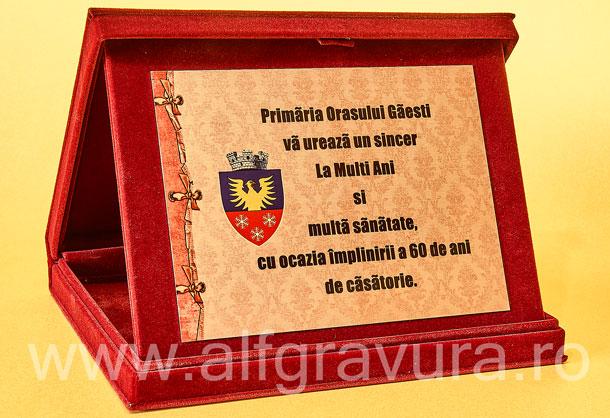 Caseta Grena Plus - Placheta aluminiu