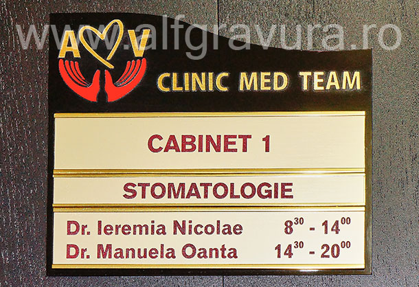 Indicator modular cabinet dentist